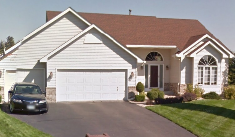 We did a home remodeling job at this Woodbury home