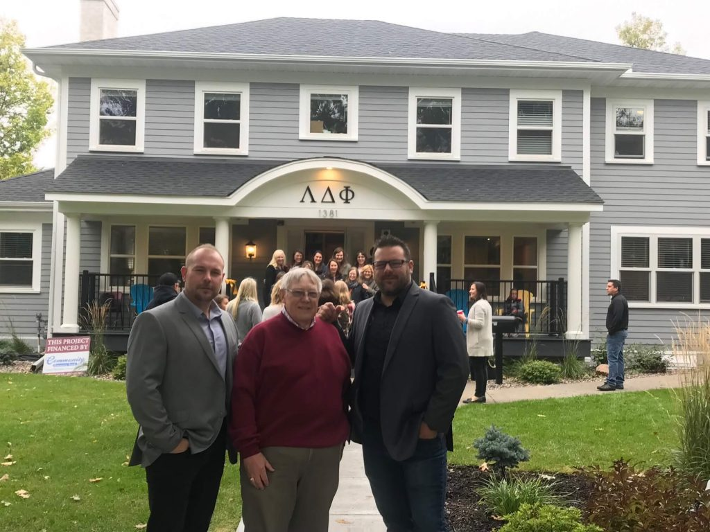 Lambda Delta Phi Sorority Grand Opening Great Northern Builders