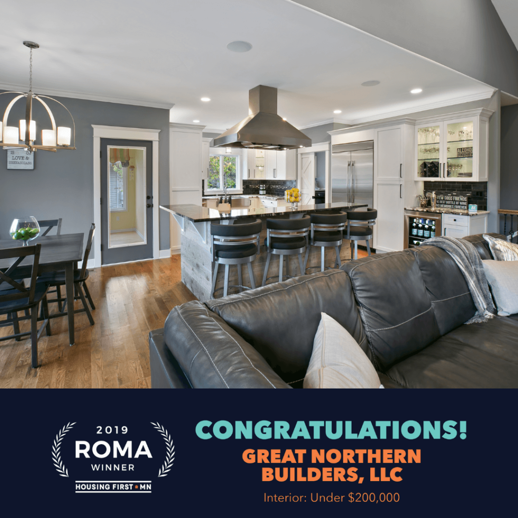 Great Northern Builders Wins 2019 Roma Award