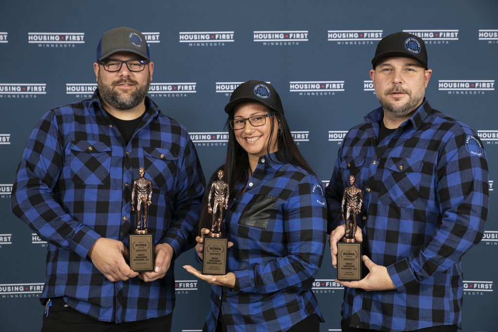 Great Northern Builders Wins Three 2020 ROMA Awards from Housing First Minnesota