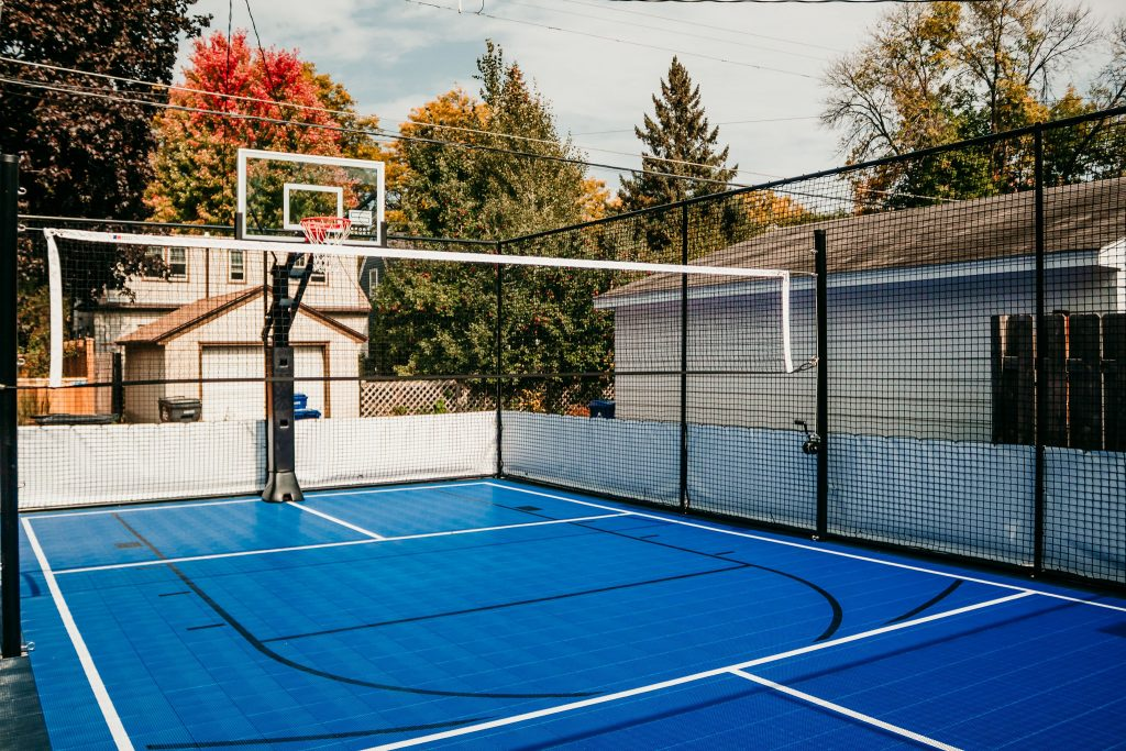 Custom Outdoor Sport Court Highland Park MN
