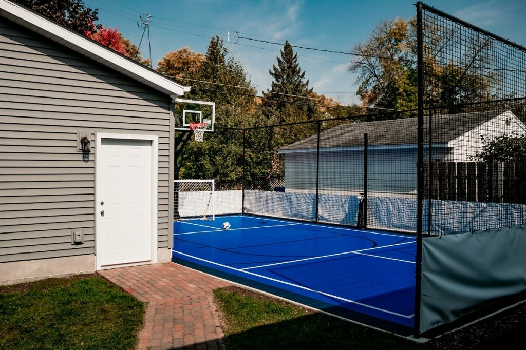 Outdoor Athletic Court Great Northern Builders Sport Court